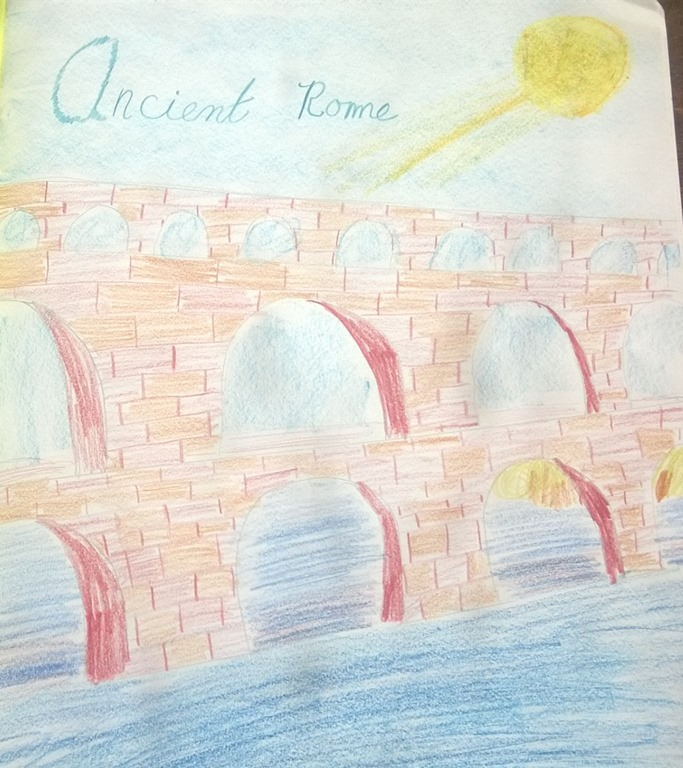 Gallery Of Work From Sixth Grade Ancient Rome The